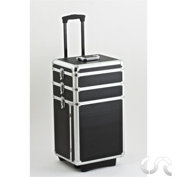 valise de rangement trolley en aluminium mb slot. Black Bedroom Furniture Sets. Home Design Ideas